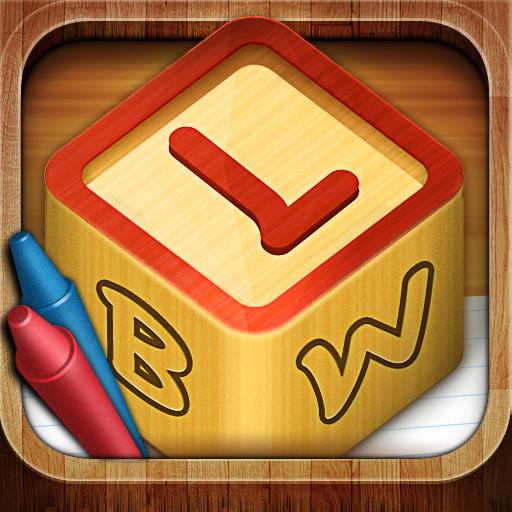 Letter Blocks 3D